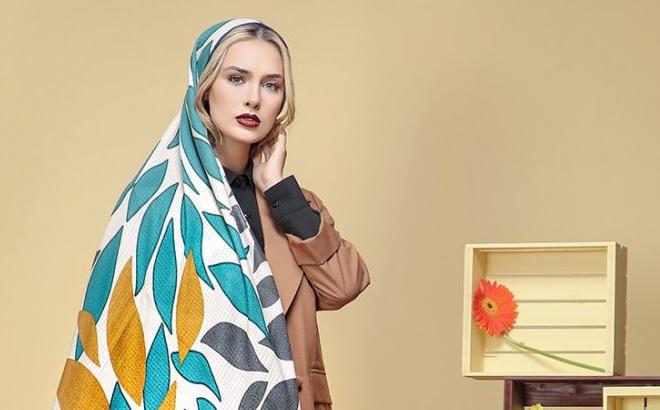 راهنمای انتخاب رنگ شال و روسری با توجه به رنگ پوست